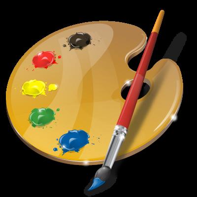 Art palette innovate graphic design